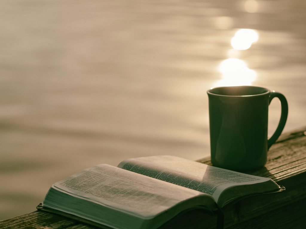 A good book and a steaming mug of coffee!