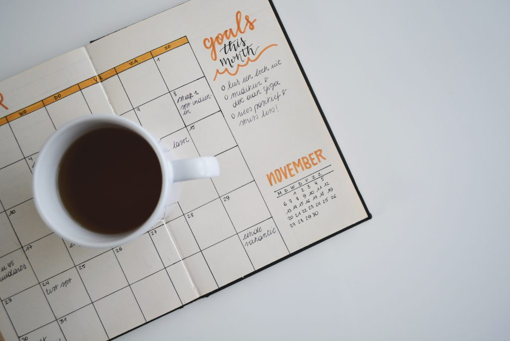 Monthly Planner - Goals this month