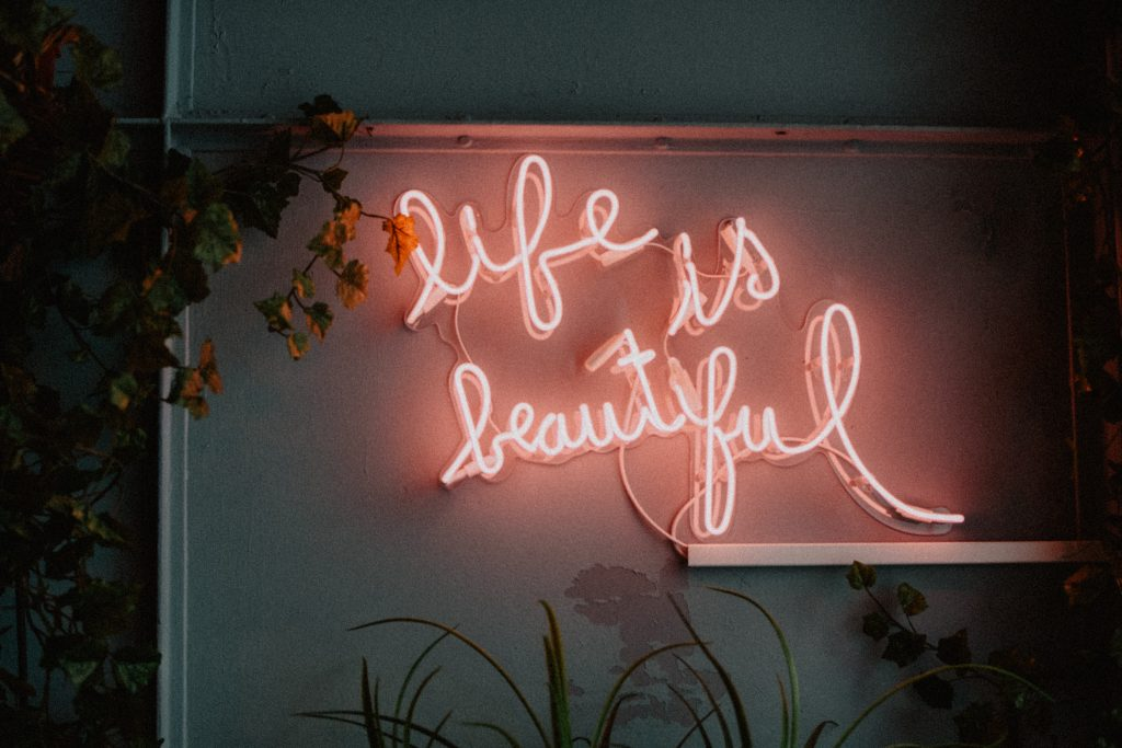 Quote - Life is beautiful.